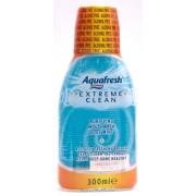 Aquafresh Extreme Clean Apa de Gura (300 ml)