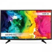 Телевизор LG, 43 инча, 4K UltraHD TV, Smart, WiDi, WiFi, Miracast, HDMI, USB, TV Recordin, 43UH610V