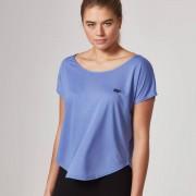 Scoop Hals T-Shirt - L - Roze