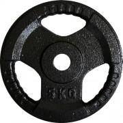 Discuri gantere Ø25 mm. 5 kg.