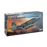 Italeri Models F-104 A/C Star Fighter Airplane Model Building Kits