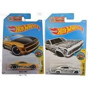 Hot Wheels 2016 Art Car Set 1965 Chevy Impala & Muscle Tone 2-Car Set