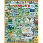 White Mountain Puzzles Vermont - 1000 Piece Jigsaw Puzzle