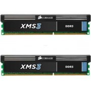 Memorii Corsair XMS3 DDR3, 2x4GB, 1600Mhz (Dual Channel)