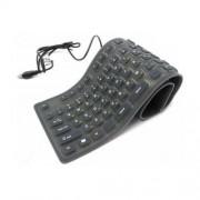 Fleksibilna tastatura od gume Gembird KB-109F-B