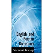 English and Persian Dictionary by Sohrabshah Behramji