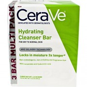 CeraVe Facial Cleanser, Hydrating Cleansing Bar, 13.5 Ounce