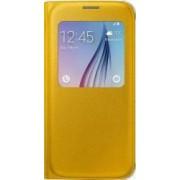 Husa Flip S-View Samsung Galaxy S6 G920 Yellow