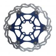 Clarks Lightweight Disc-Rotor Disco freno 6 fori blu Dischi freno
