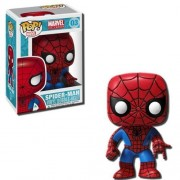Funko POP! Marvel 4 Inch Vinyl Bobble Head Figure - Spider Man by Funko [Toy] (English Manual)