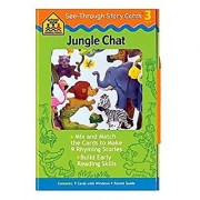 See-through Story Cards Jungle Chat
