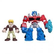 Transformers Rescue Bots Energize Optimus Prime & Cody Burns Af 2-Pack