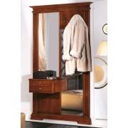 Garderobe-Set mit 2 Spiegel