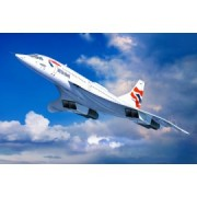 Macheta avion revell concorde british airways 04997