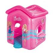 Bestway 93208 - Casa di Barbie con Fondo Imbottito e Davanzale, 150 x 135 x 142 cm
