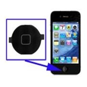 Botão Home Front iPhone 4 Negro