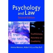 Psychology and Law by Amina A. Memon