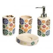 Set 4 accesorii de baie, design modern