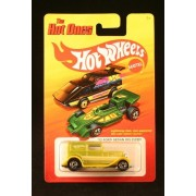 32 FORD SEDAN DELIVERY (LIME GREEN) * The Hot Ones * 2011 Release of the 80s Classic Series - 1:64 S