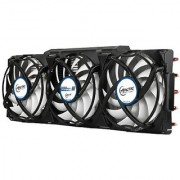 ARCTIC Accelero Xtreme III - High-End Graphics Card Cooler - nVidia & AMD 3 Quiet 92mm PWM Fans SLI/CrossFire.