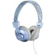 Casti cu Microfon Marley EM-JH011-BH Positive Vibration (Bleu/Alb)