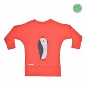 Bluza Penguin - rosu 6-8 ani