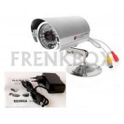 Telecamera videosorveglianza CCD 800 TVL 79° 3,6mm infrarossi da esterno 36 led