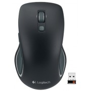 Logitech Wireless Mouse M560 for Windows 7/8 - Black (910-003880)