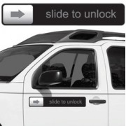 Slide to Unlock - Magnete ispirato al noto smartphone