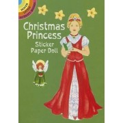 Christmas Princess Sticker Paper Doll by Barbara Steadman