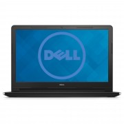 "Notebook Dell Vostro 3558, 15.6"" HD, Intel Core i3-5005U, RAM 4GB, SSD 128GB, Linux, Negru"