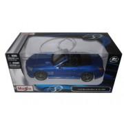 Mercedes Sl 63 Amg Convertible Blue 1/24 By Maisto 31503