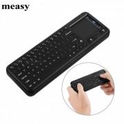 Measy RC8 mini raton de aire 2.4GHz RF teclado inalambrico para Smart TV Box