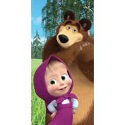 Mása és a Medve törölköző