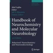 Handbook of Neurochemistry and Molecular Neurobiology 2007 by Jeffrey D. Blaustein