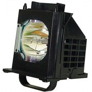 AuraBeam Economy Mitsubishi WD-73735 Television Replacement Lamp with Housing