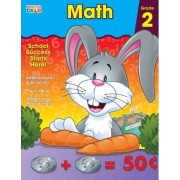 Math Workbook, Grade 2 by Brighter Child