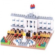 Kawada NBH_104 Nanoblock Buckingham Palace Building Kit
