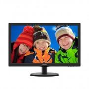 "Monitor LED TN Philips 21.5"", Wide, Full HD, HDMI, Negru (223V5LHSB2/00)"
