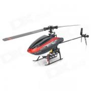 Walkera Mini PC 6-CH control de radio de 2?4 GHz 3D R / C Helicopter w / DEVO 7 Transmisor - rojo (modelo 2)