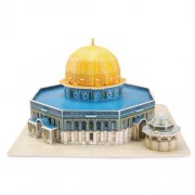 19 X 19 X 11cm Israel Dome Of The Rock 3 D Puzzles 25 Piece Personalized Gifts