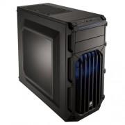 Corsair CC-9011058-WW Case Essential Gaming, Mid Tower Atx Carbide Spec-03, con Finestra e Ventola Frontale a LED, Blu/Nero