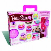 Easy Bake Microwave Deluxe Delights Cake and Cookie Kit
