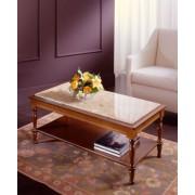 Lajos Fülöp - szögletes kisasztal üveglappal