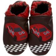 Robeez Speedy Speedy-37236 - Zapatos para bebé de cuero para niño