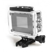 Action Camera + LCD Display Sports (Black)