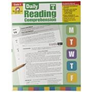 Evan Moor Book Daily Reading Comprehension - Grade 4