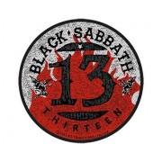 Ecusson Patch Black Sabbath 13 Flame Circle