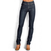 Womens Urban High Waisted Jeans - Black Trousers