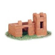 Set De Constructie Din Caramizi - Castel - Suport De Creioane - Teifoc
